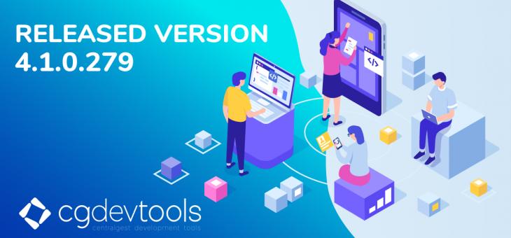 RELEASED CGDEVTOOLS VERSION 4.1.0.279